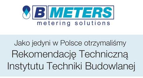 Jedyne w Polsce podzielniki kosztów ogrzewania rekomendowane przez Państwową Jednostkę Badawczą