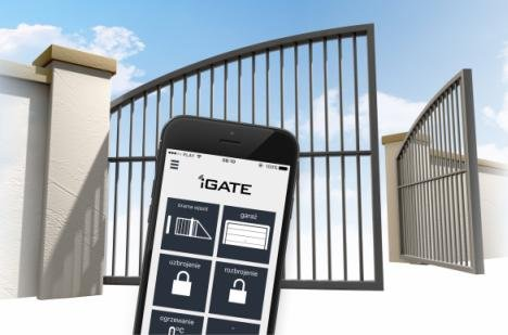 Otwórz bramę, szlaban, furtkę telefonem - system iGATE-BRgsm2