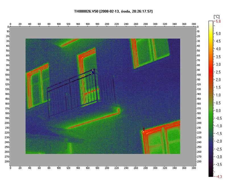 Jak usunąć mostki termiczne na ścianach budynku?