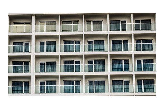 Reklama na balkonie