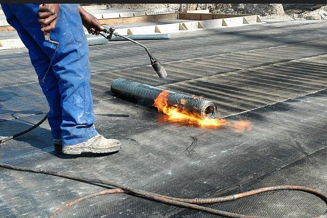 Remont dachu na garażu