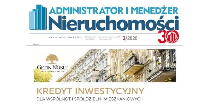 e-wydanie: Administrator i Menedżer Nieruchomości 3/2020