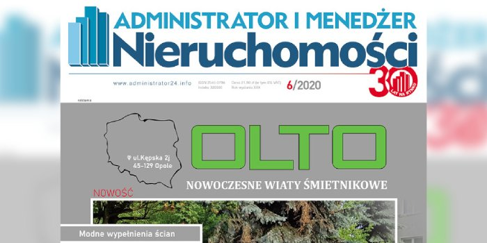 e-wydanie: Administrator i Menedżer Nieruchomości 6/2020
