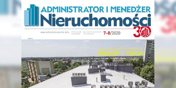 e-wydanie: Administrator i Menedżer Nieruchomości 7-8/2020