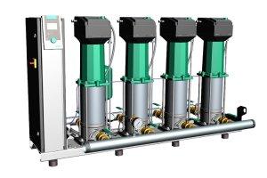 Cichobieżne zestawy hydroforowe Wilo SiBoost Smart MVISE