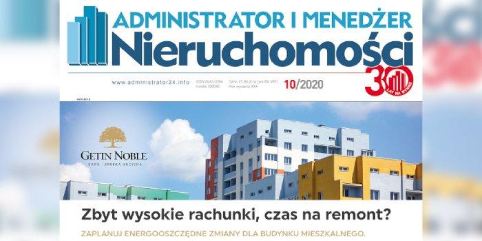 e-wydanie: Administrator i Menedżer Nieruchomości 10/2020