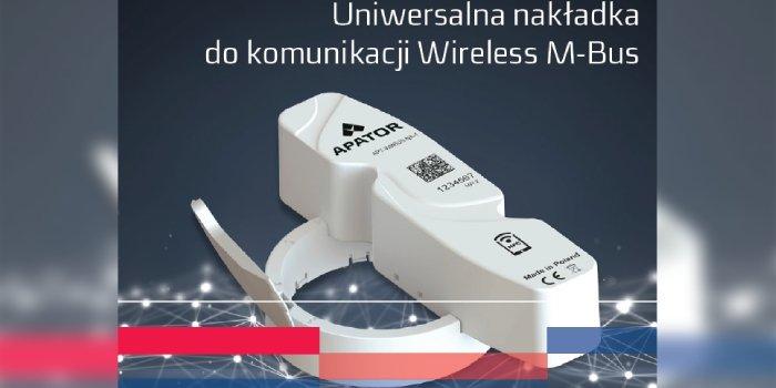APT-WMBUS-NA-1 - uniwersalna nakładka do komunikacji Wireless M-Bus
