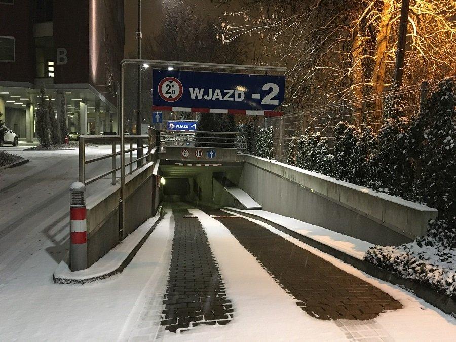 Wygodny dojazd zimą