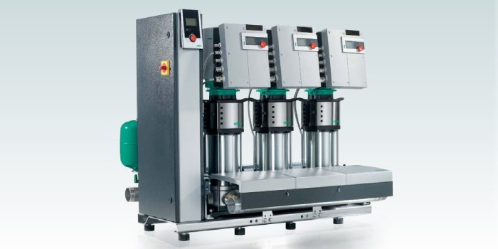 Zestawy hydroforowe do podnoszenia ciśnienia i zaopatrzenia w wodę