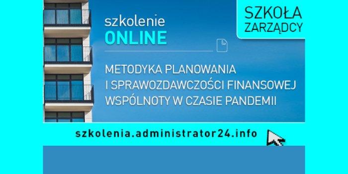 Szkolenie: Metodyka planowania i sprawozdawczości finansowej wspólnoty w czasie pandemii