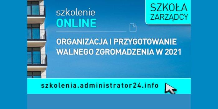 Szkolenie: Organizacja i przygotowanie Walnego Zgromadzenia w 2021