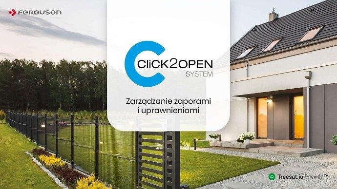 System Click2open – zarządzanie zaporami i uprawnieniami za pomocą telefonu z aplikacją mobilną