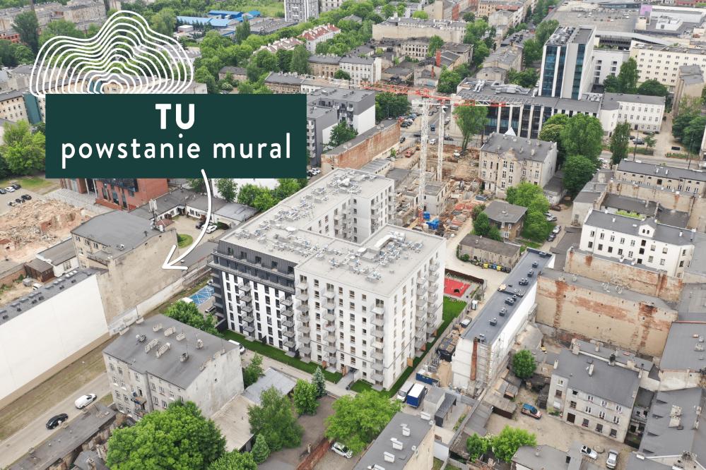 W polskim mieście powstaje mural, który ma zachęcić do budowania sąsiedzkich relacji