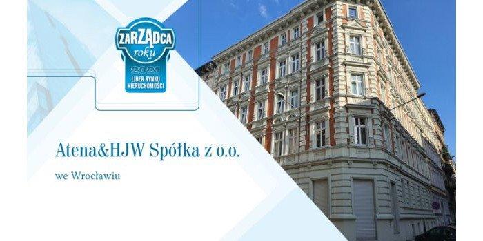 ATENA & HJW Liderem Rynku Nieruchomości 2021