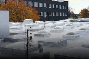 Jednodniowe powłoki hydroizolacyjne do dachów przemysłowych i mieszkalnych »
