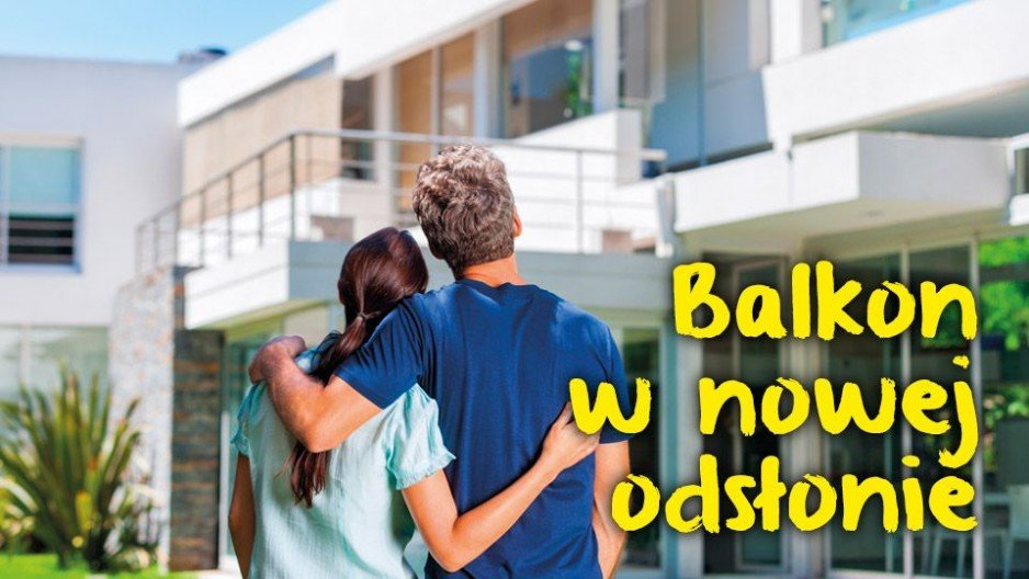 Balkony i tarasy w nowej odsłonie - system weber.dry balkon Weber
