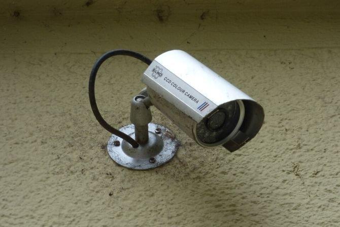 Kamera monitorująca nieruchomość fot. Pixabay