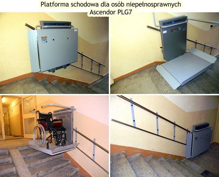 Platforma schodowa Ascendor PLG7