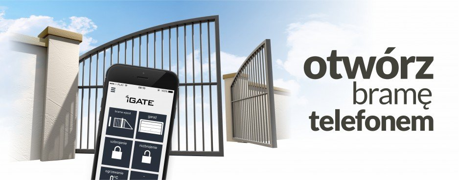 Otwórz telefonem bramę i szlaban - System iGATE-BRgsm2