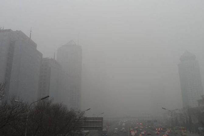 Smog w mieście; arch. red.