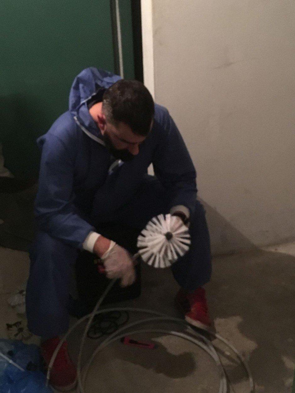 Renowacja kanalizacji metodą natryskową