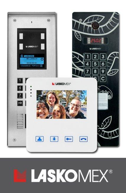 Nowe spojrzenie na bezpieczeństwo -domofony Laskomex