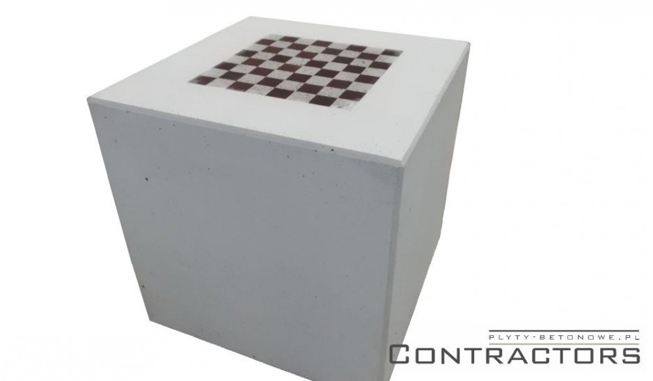 Szachownica betonowa