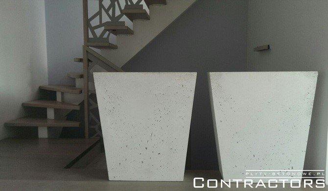 Donica betonowa - trapez