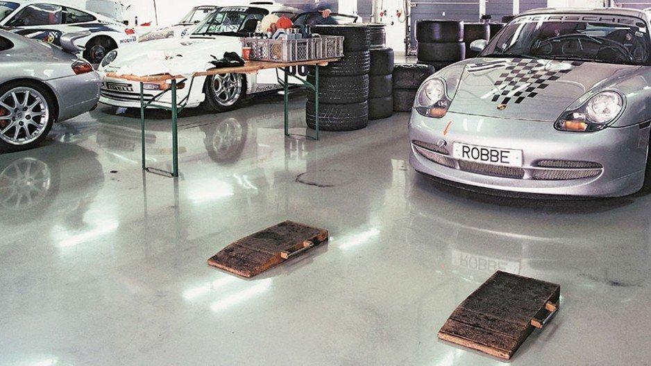 Posadzki na parkingach i w garażach