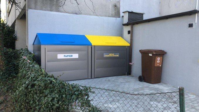 Obudowy na pojemniki na śmieci