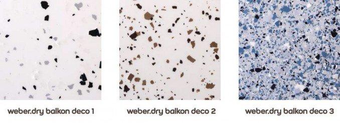 system weber.dry balkon - deco