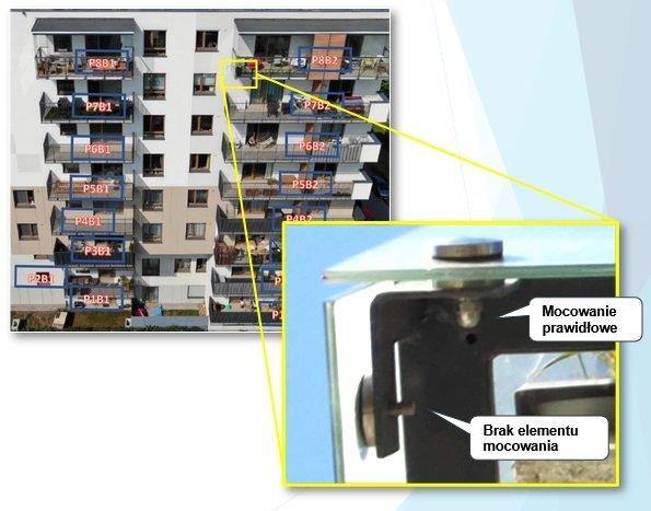 Balkony z drona