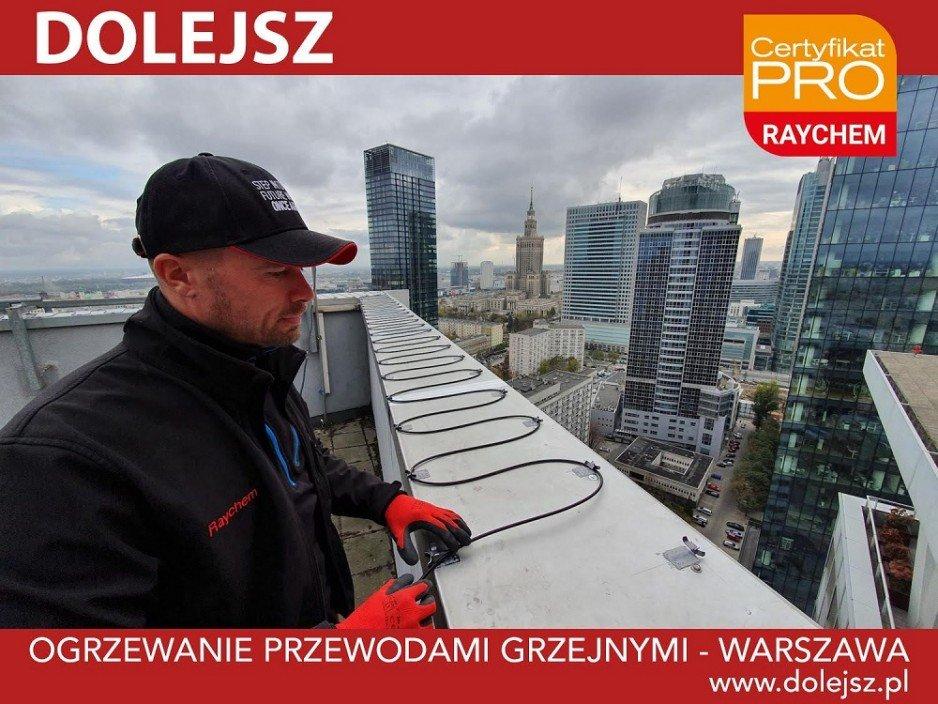 Ogrzewanie rynien Warszawa