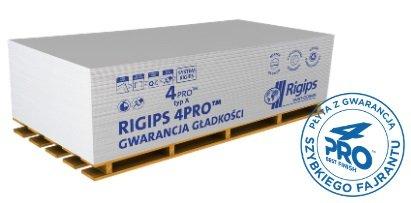 Idealna gładkość i krótszy czas montażu płyt g-k 4PRO™ Rigips Polska