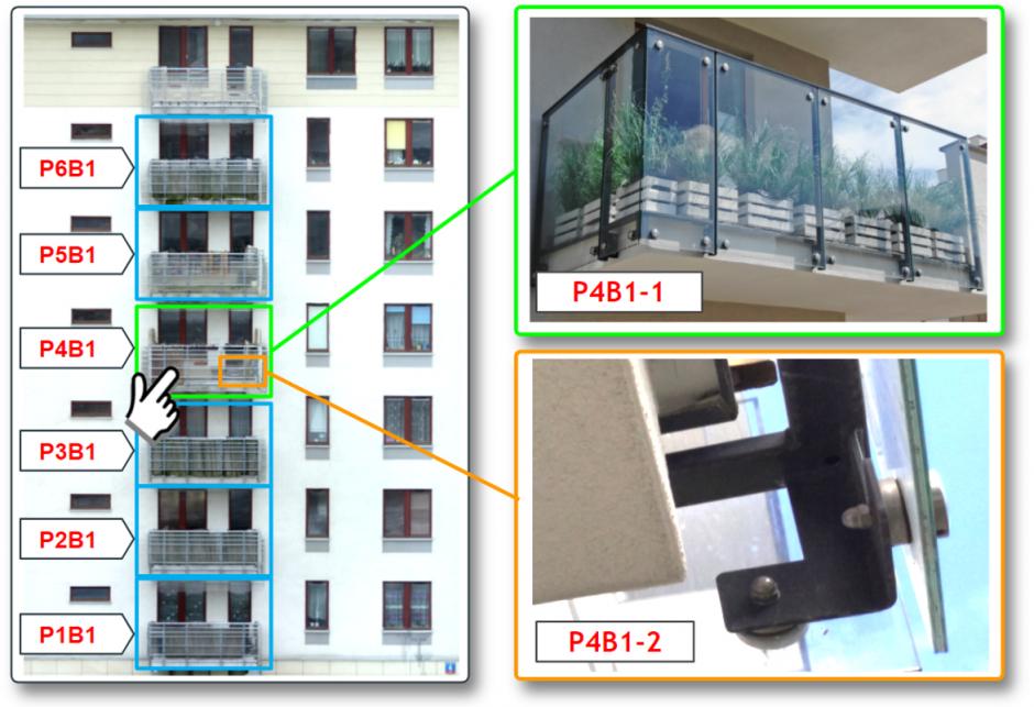 Inspekcje balkonów z dronów
