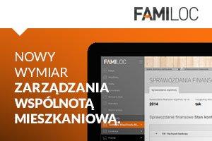 Platforma Familoc dla wspólnot mieszkaniowych