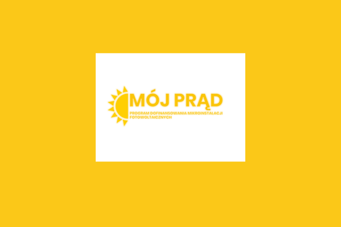 Logo Mój Prąd, fot. NFOŚiGW