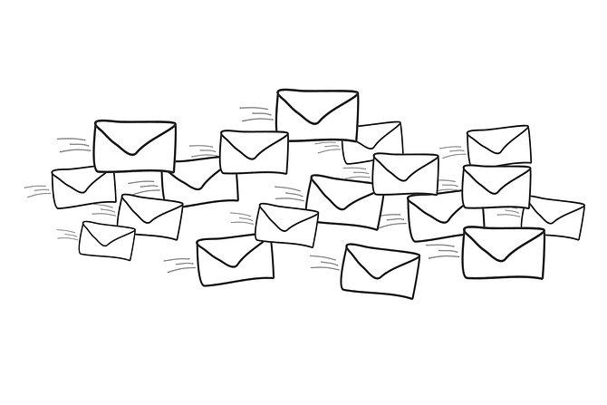 Graficzne przedstawienie korespondencji, pixabay