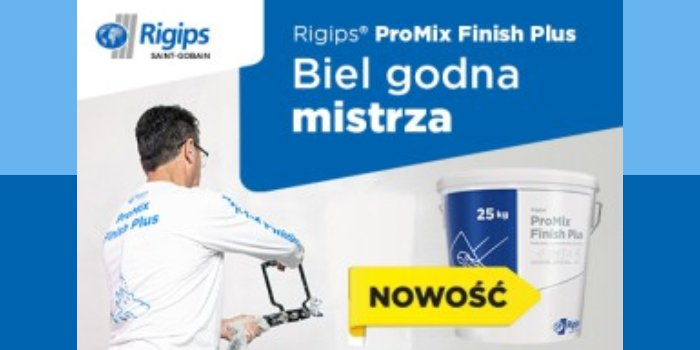Rigips® ProMix Finish Plus Rigips Polska