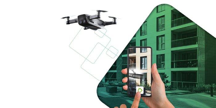 Przegląd przy użyciu dronów