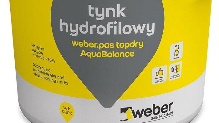 tynk hydrofilowy weber.pas topdry AquaBalance